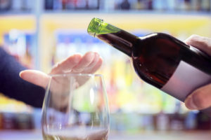 To be or not to be alcohol free rejecting alcohol